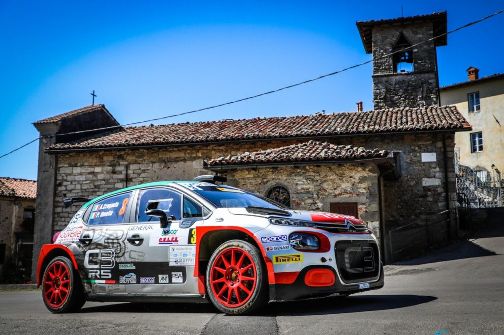 CIR | I marchi del Gruppo PSA in vetta al Ciocco: Citroen con Crugnola, Peugeot con Andreucci