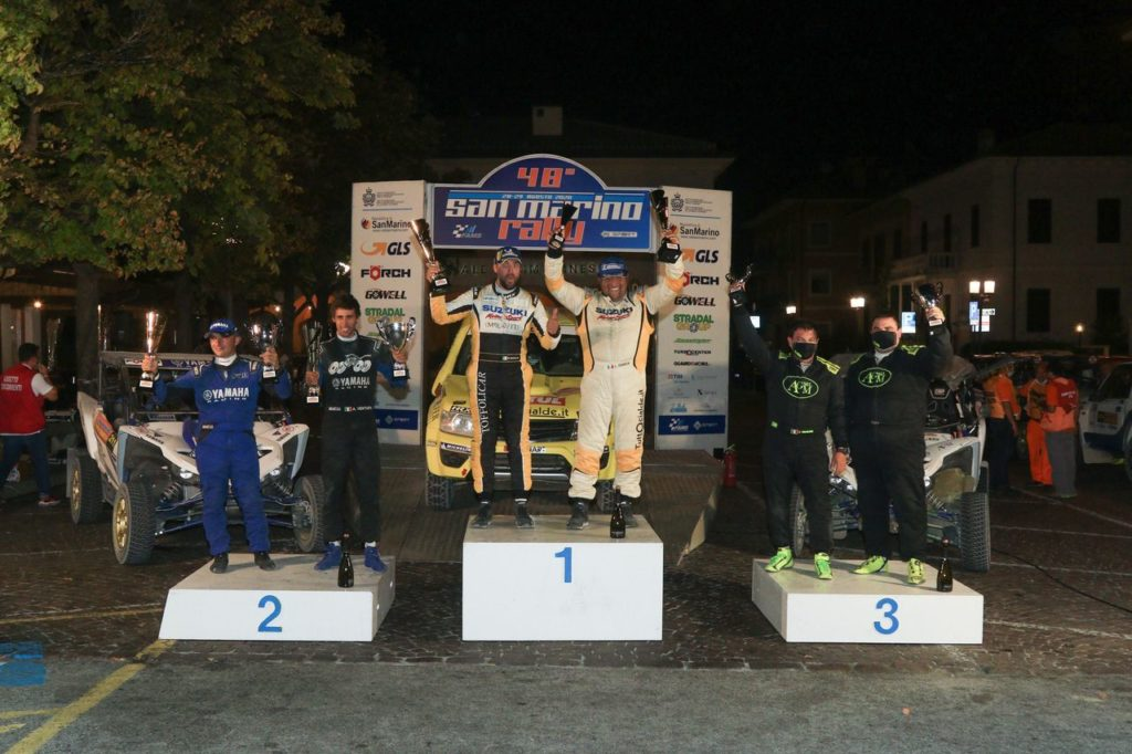 San Marino Rally 2020, gli altri risultati: ancora Codecà nel Cross Country, Mazzocchi svetta tra i Junior del CIR