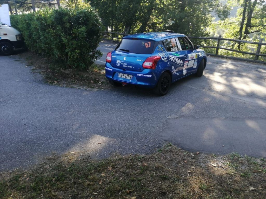 Suzuki Rally Cup | Simone Rivia vince al Ciocco e sale in vetta alla classifica