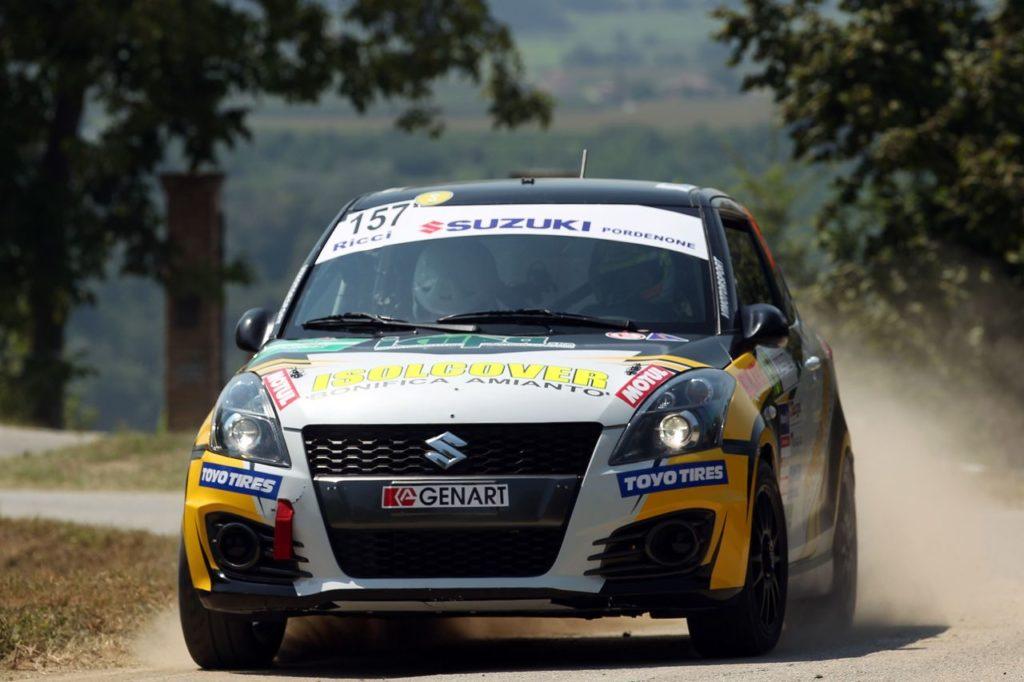 Suzuki Rally Cup | Gli equipaggi nel secondo round di scena al Rally Il Ciocco