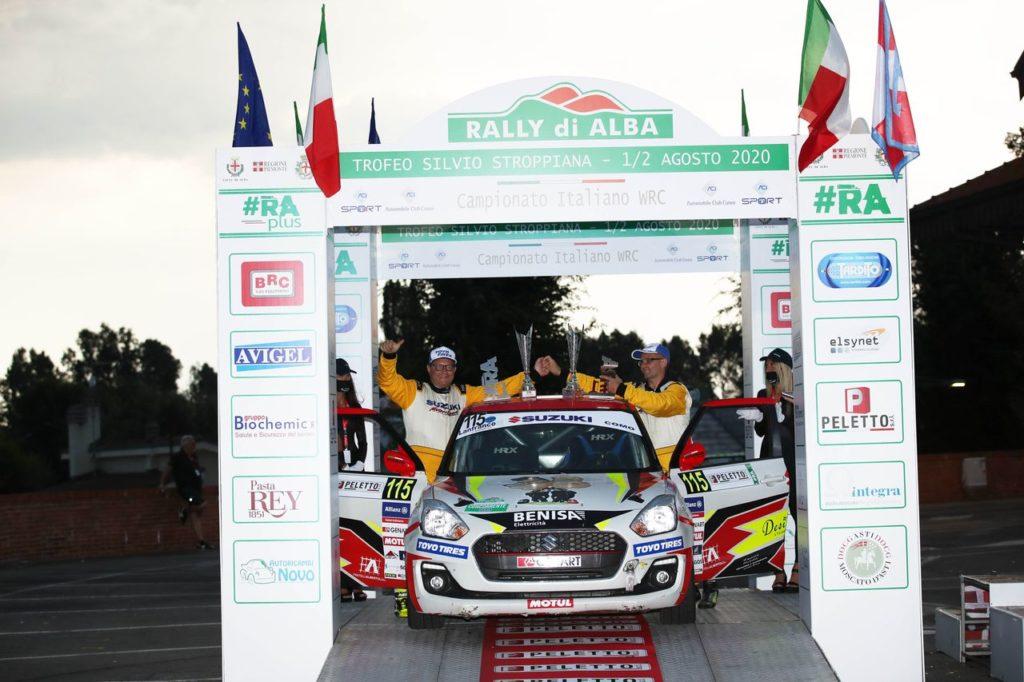 Suzuki Rally Cup | Buona la prima per Cominelli e Fieni, vincitori al Rally di Alba