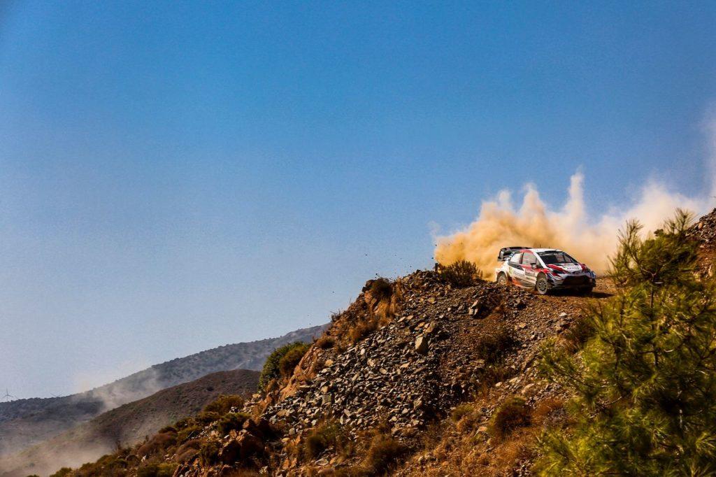 WRC | Test Toyota in Grecia in vista del Rally Turchia. Imprevisto in elicottero per Ogier e Martin
