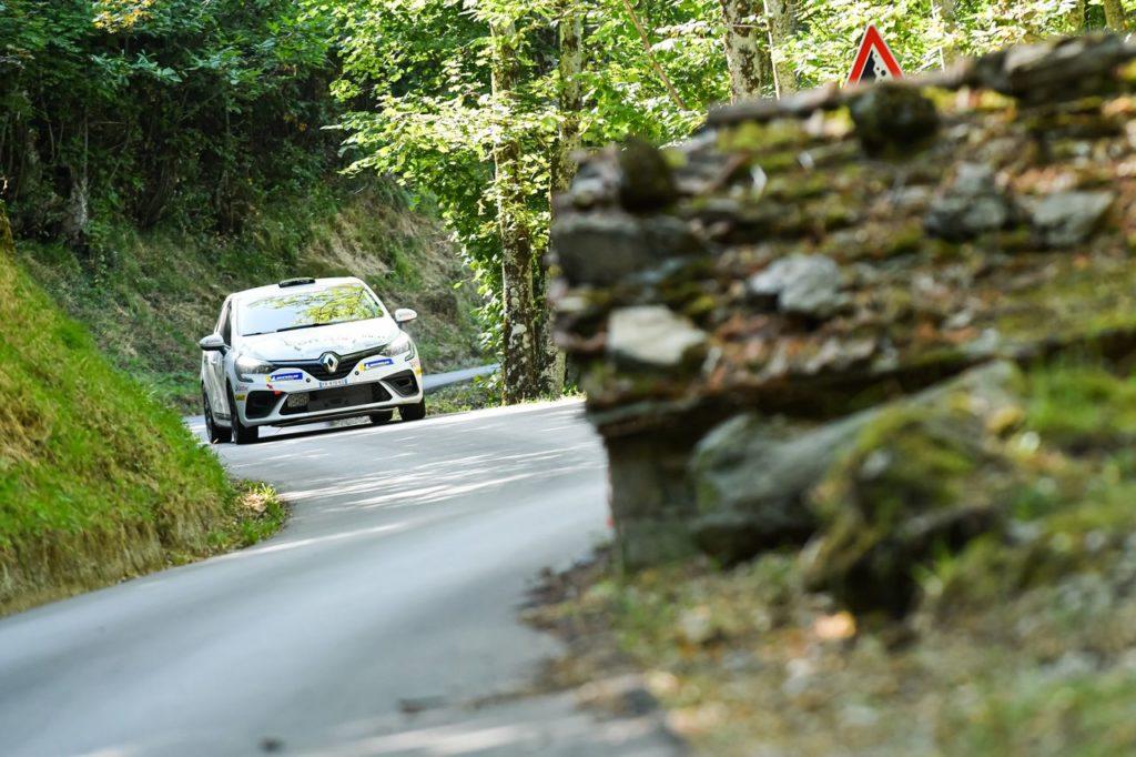 Trofei Renault Rally | Clio Trophy Italia, Martinelli vince al debutto con la Clio Rally5