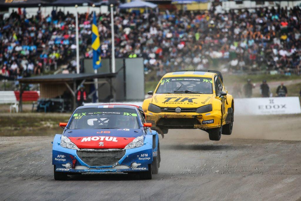 WRX | Holjes, Kristoffersson torna nel Mondiale Rallycross e vince Gara 1 in Svezia