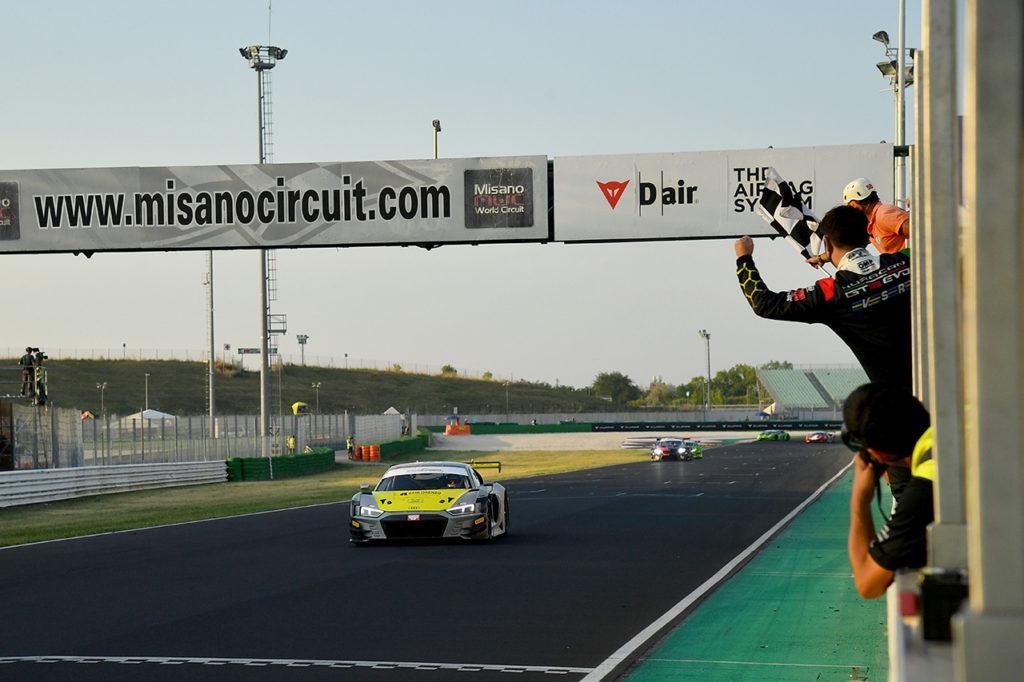 CIGT | Misano, Gara 1: altro colpo di Audi con Agostini e Mancinelli