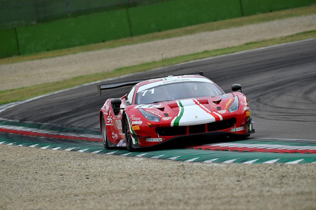 CIGT | Imola, Gara: vittoria della Ferrari di AF Corse con Roda-Rovera-Fuoco