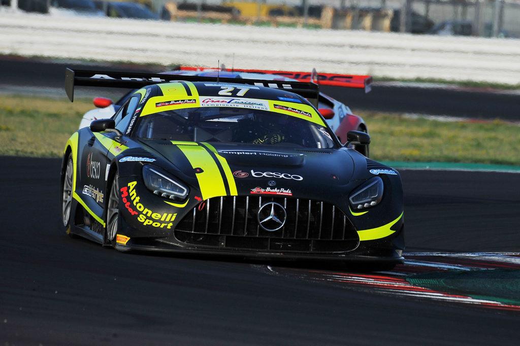 CIGT | Misano, Gara 2: penalizzati Galbiati-Venturini, vittoria alla Mercedes di Ferrari-Zampieri