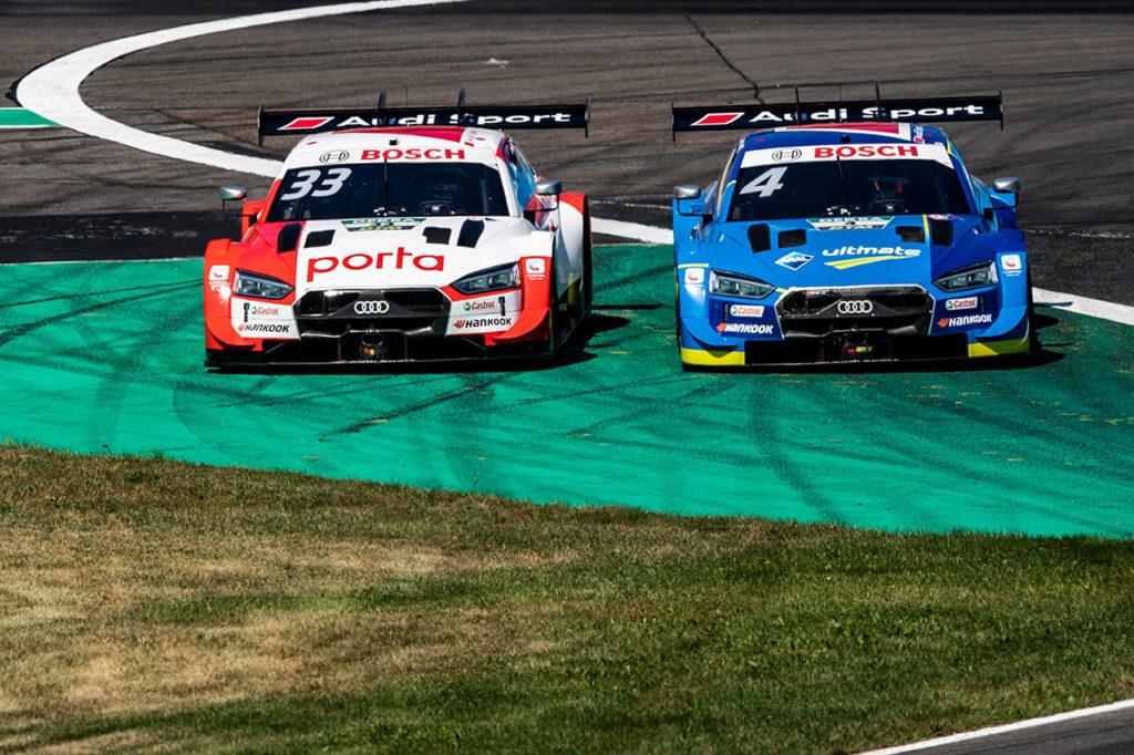 DTM | Altra doppietta di Audi al Lausitzring, finale in volata tra Rast e Mueller in Gara 2