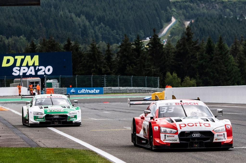 DTM | Spa-Francorchamps, Gara 2: Rast vince in volata su Mueller