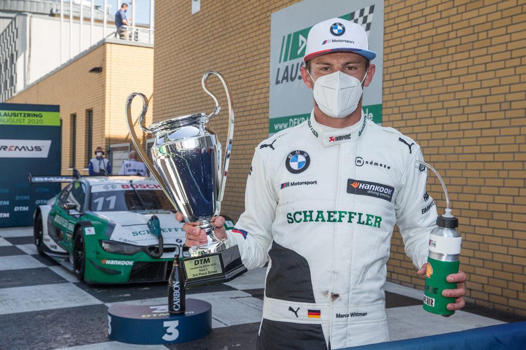 DTM | BMW centra il 300° podio assoluto nel campionato al Lausitzring con Wittmann