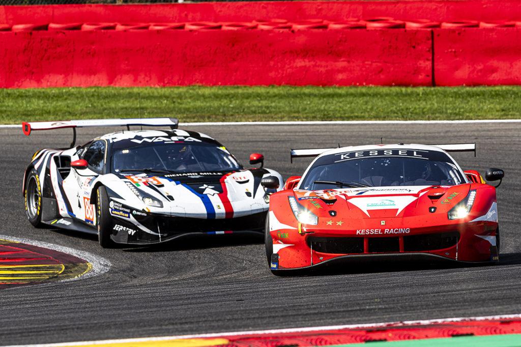 ELMS | Ferrari firma la prima vittoria stagionale a Spa-Francorchamps con Kessel Racing