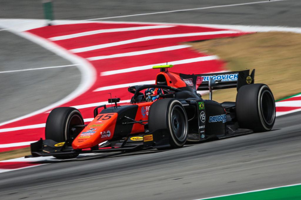 FIA F2 | Barcellona, Gara 2: Drugovich regala un'altra vittoria a MP Motorsport, Ghiotto 2°