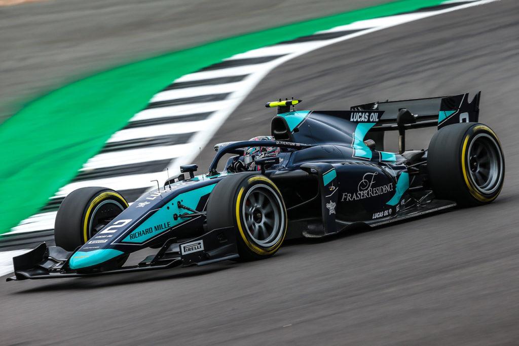 FIA F2 | Silverstone, Gara 2: Ticktum trionfa sul circuito di casa con DAMS