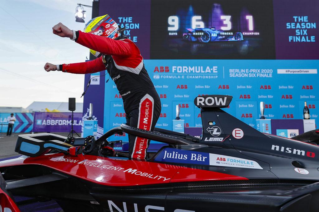 Formula E | Berlino ePrix III, Gara 1: Rowland conquista la prima vittoria con Nissan e.dams