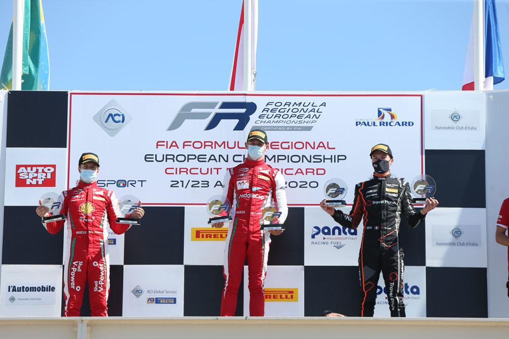 Formula Regional | Le Castellet, Gara 1: Leclerc vince dalla pole position con Prema