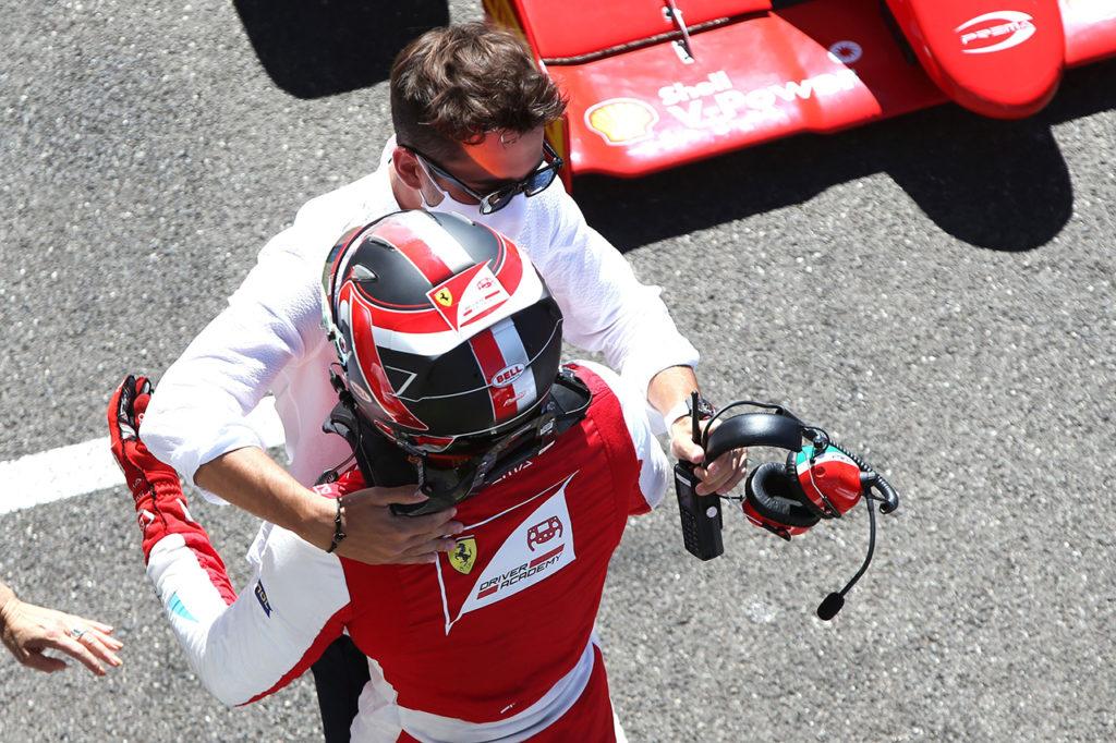 Formula Regional | Le Castellet, Gara 3: Petecof spreca, Leclerc vince e s'avvicina