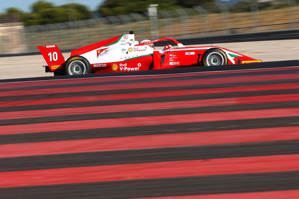 Formula Regional | Le Castellet, Gara 2: Petecof vince con Prema e allunga in classifica