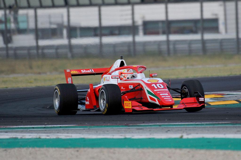 Formula Regional | Misano, Gara 3: Petecof chiude il weekend con una vittoria