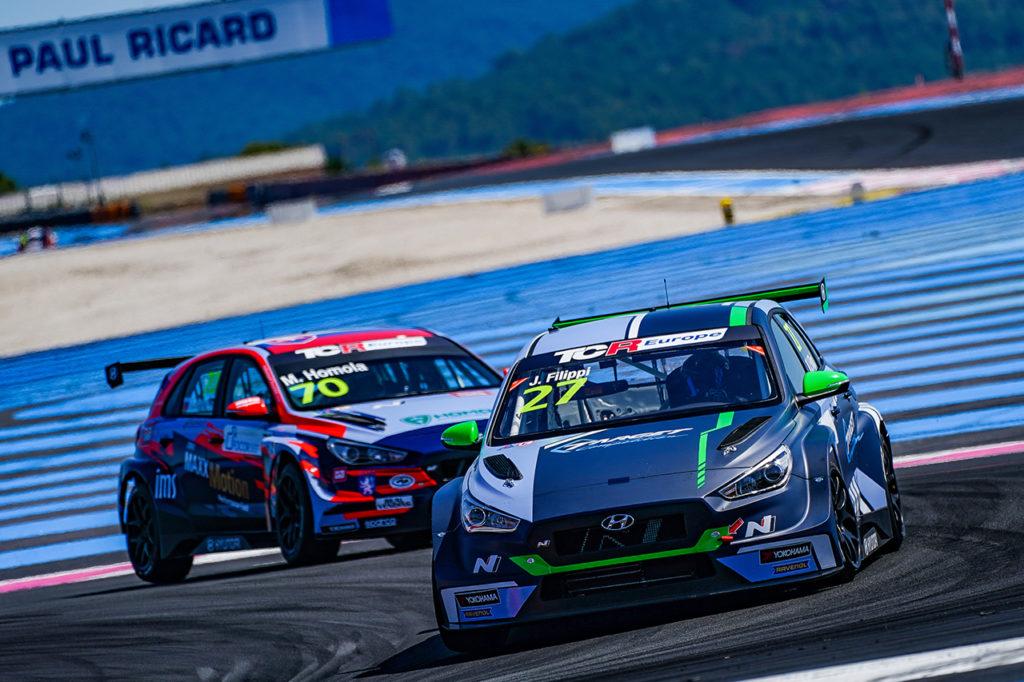 TCR Europe | Le Castellet, Qualifiche: Filippi in pole position sul circuito di casa con Hyundai