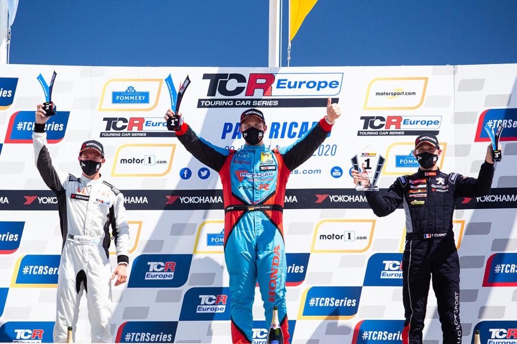 TCR Europe | Le Castellet, Gara 2: Halder dalla pole position con Honda