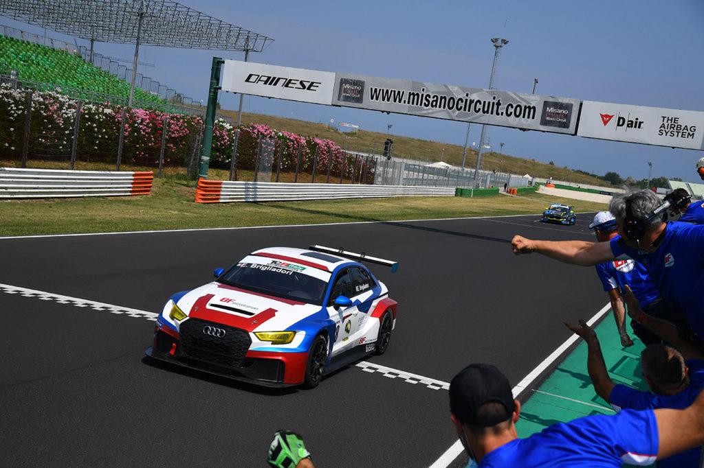 TCR Italy | Misano, Gara 2: Brigliadori conquista la doppietta con Audi
