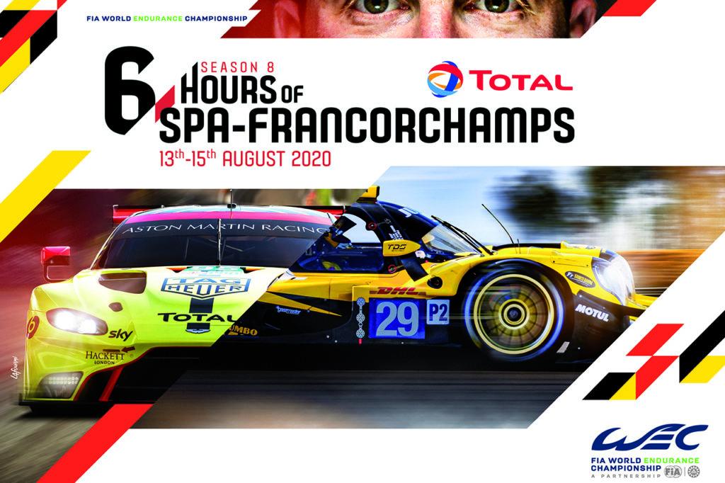 WEC | 6 Ore di Spa-Francorchamps 2020: anteprima e orari del weekend