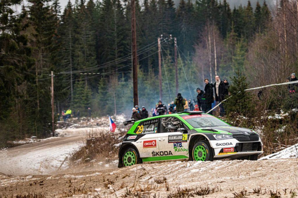 Dall'ERC al WRC: la maratona di Oliver Solberg, tra Fafe Montelongo e Rally Italia Sardegna