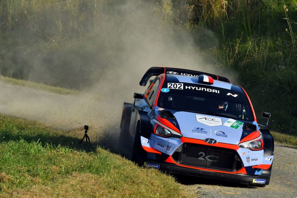 WRC | L'apprendistato di Loubet con la Hyundai i20 WRC al Rally Estonia, in vista della Sardegna