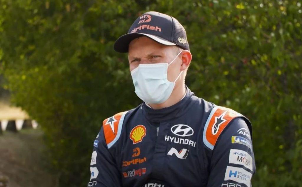 WRC | Rally Estonia, Ott Tanak imprime il suo passo nello shakedown