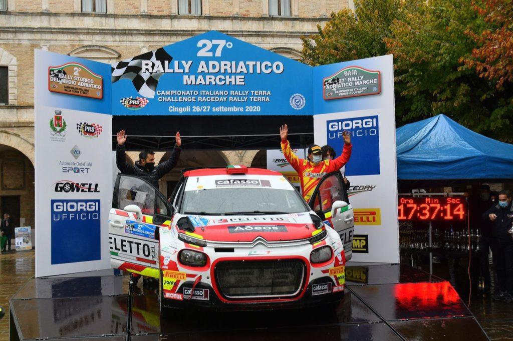 CIRT | Rally Adriatico 2020, vince Andreucci. Campedelli insegue: la corsa al titolo resta aperta