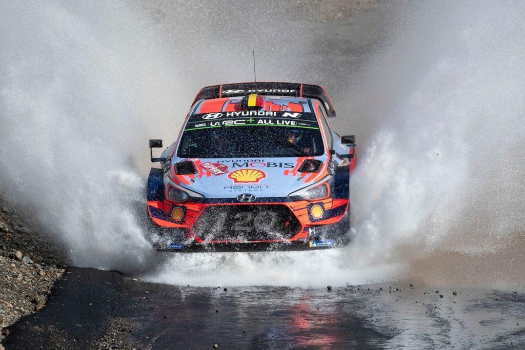 WRC | Rally di Turchia, PS1: numero degli Hyundai, tutti e tre i piloti a podio