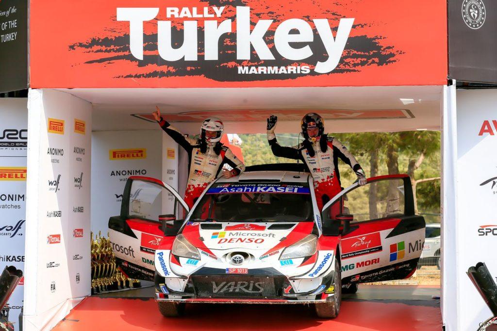 WRC   Rally Turchia 2020, Toyota tra la gioia per la vittoria di Evans e la costernazione per Ogier