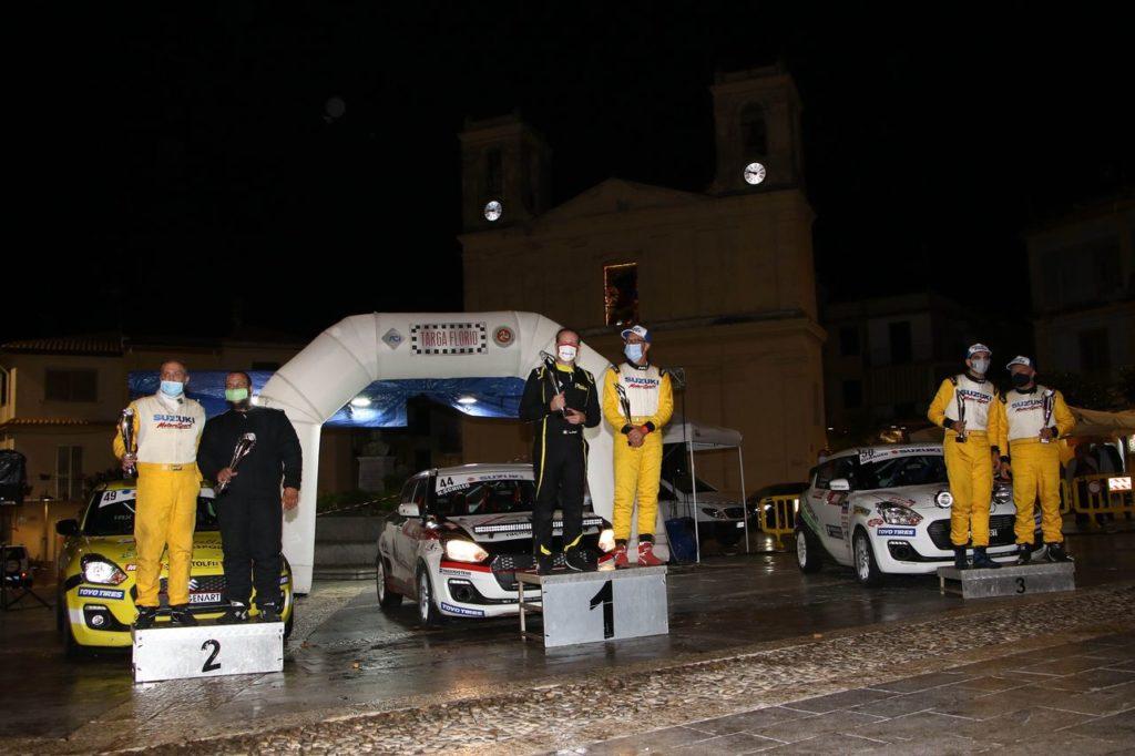 Suzuki Rally Cup | Schileo vince la gara di sopravvivenza della Targa Florio 2020