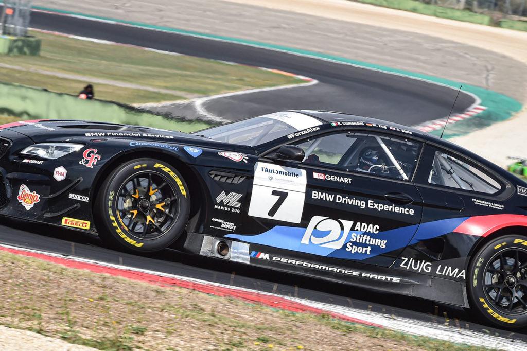 CIGT | BMW Team Italia sale al comando della classifica con Comandini e Zug dopo Vallelunga