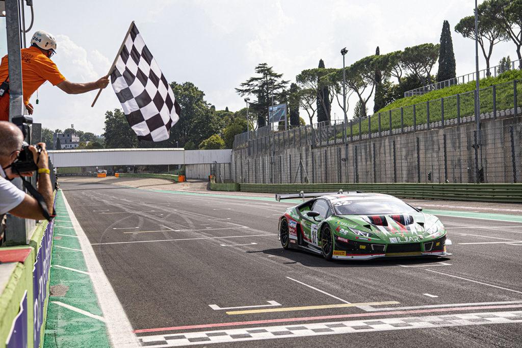 CIGT | Vallelunga, Gara: doppietta Lamborghini, vittoria di Galbiati-Venturini-Frassineti