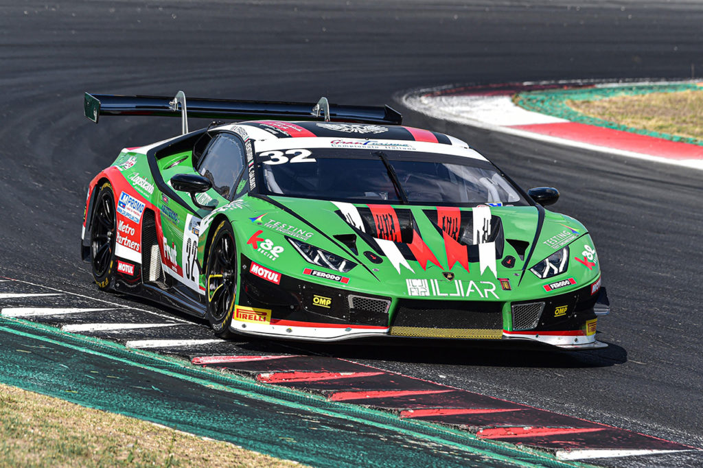 CIGT | Lamborghini festeggia il primo successo a Vallelunga con una doppietta