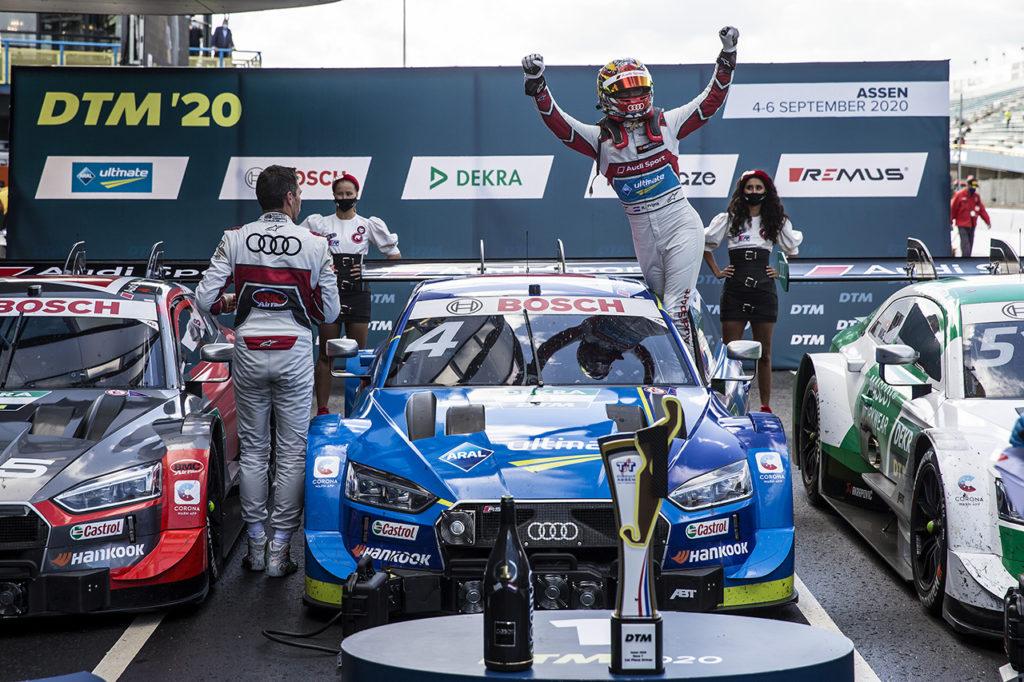 DTM | Assen, Gara 1 e 2: Frijns firma la prima con Audi, van der Linde vince sotto la pioggia con BMW