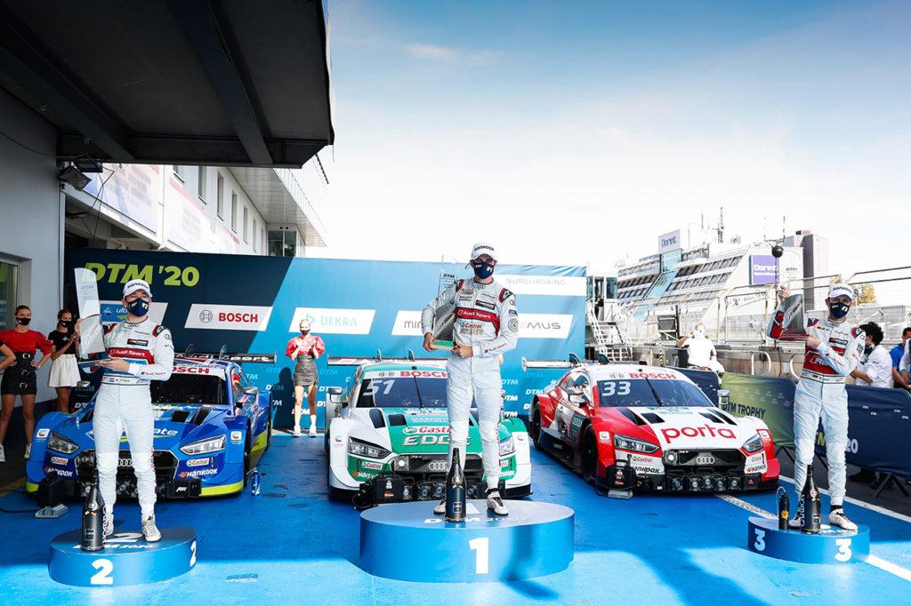 DTM | Audi vince con largo anticipo il titolo costruttori al Nurburgring