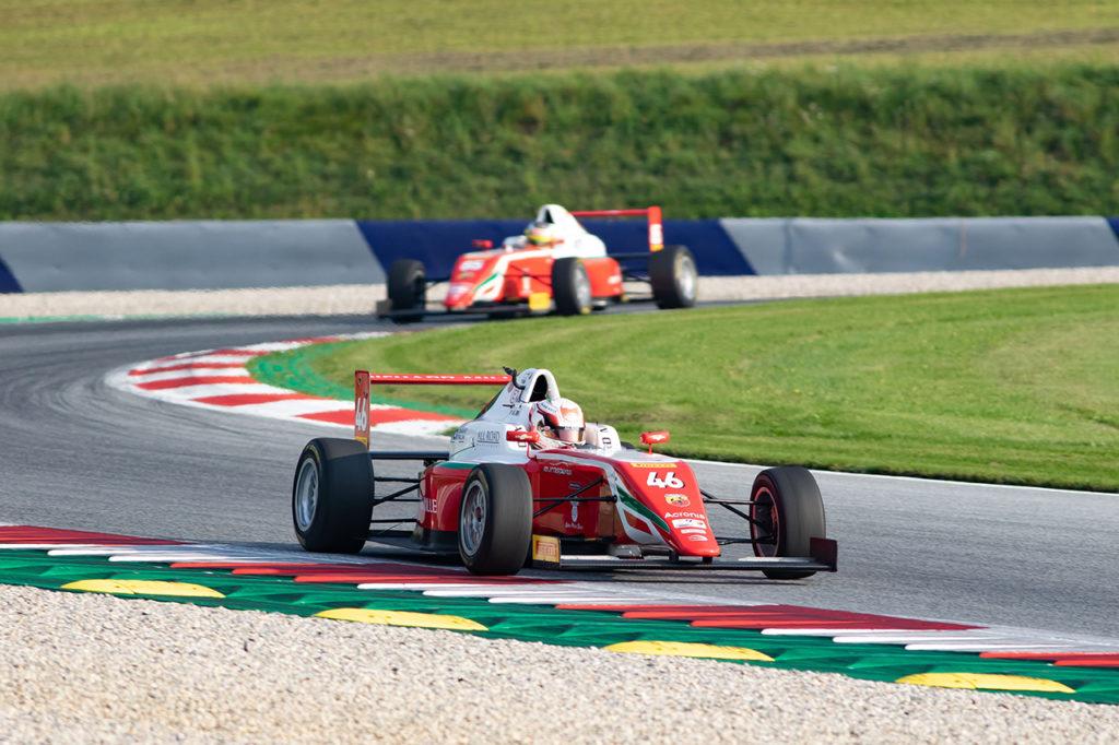 F4 Italia | Spielberg, Qualifiche: Duerksen torna con la pole, Minì se ne piglia due
