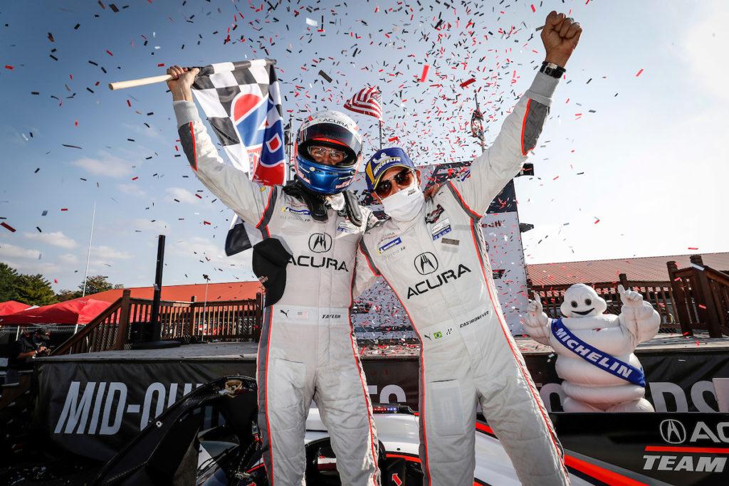 IMSA | Mid-Ohio, Gara: terza vittoria consecutiva per Castroneves-Taylor con Acura