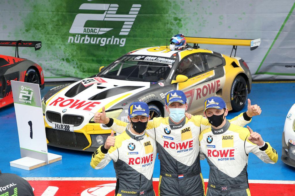 NLS | 24 Ore del Nurburgring, Gara: BMW torna alla vittoria dopo dieci anni con ROWE
