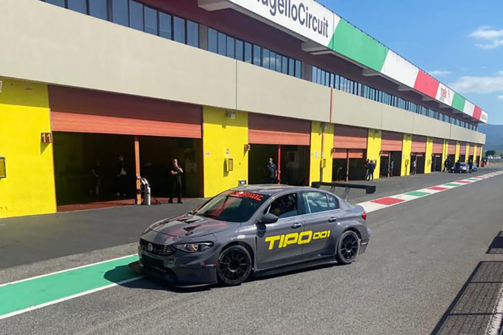 TCR Europe | La Fiat Tipo TCR di Tecnodom debutterà a Monza settimana prossima