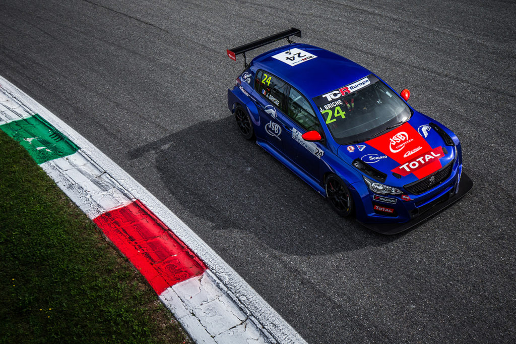 TCR Europe | Monza, Gara 1: Briché rinasce con Peugeot, Lloyd solido 2°