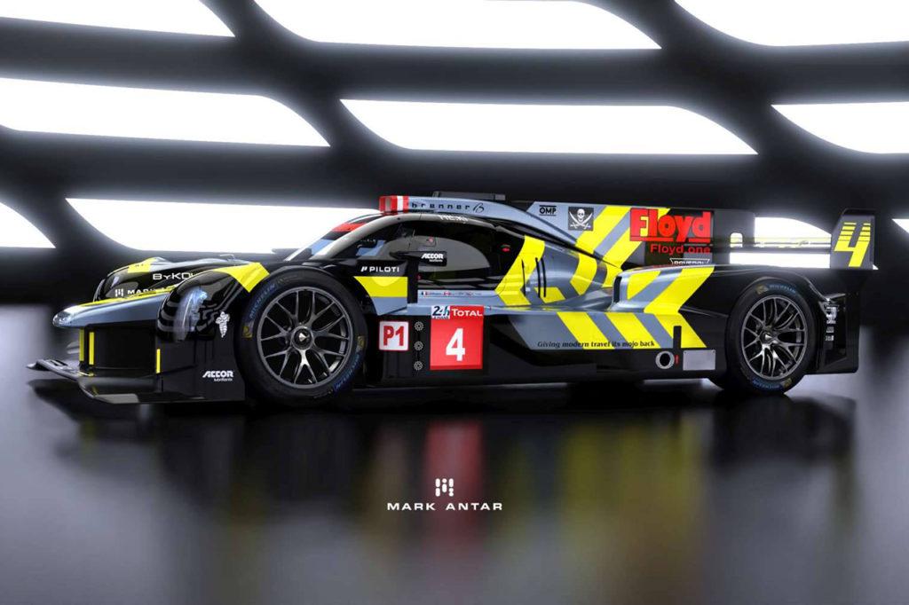 WEC | ByKolles svela la nuova livrea per la 24 Ore di Le Mans