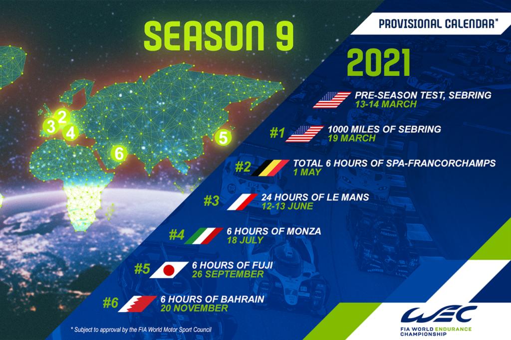 WEC | Presentato il nuovo calendario per la stagione 2020, confermata Monza!