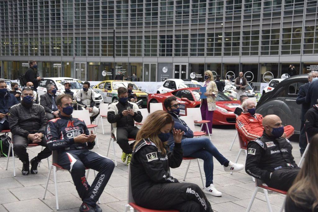 Milano Rally Show, parte la staffetta con Expo Dubai 2021