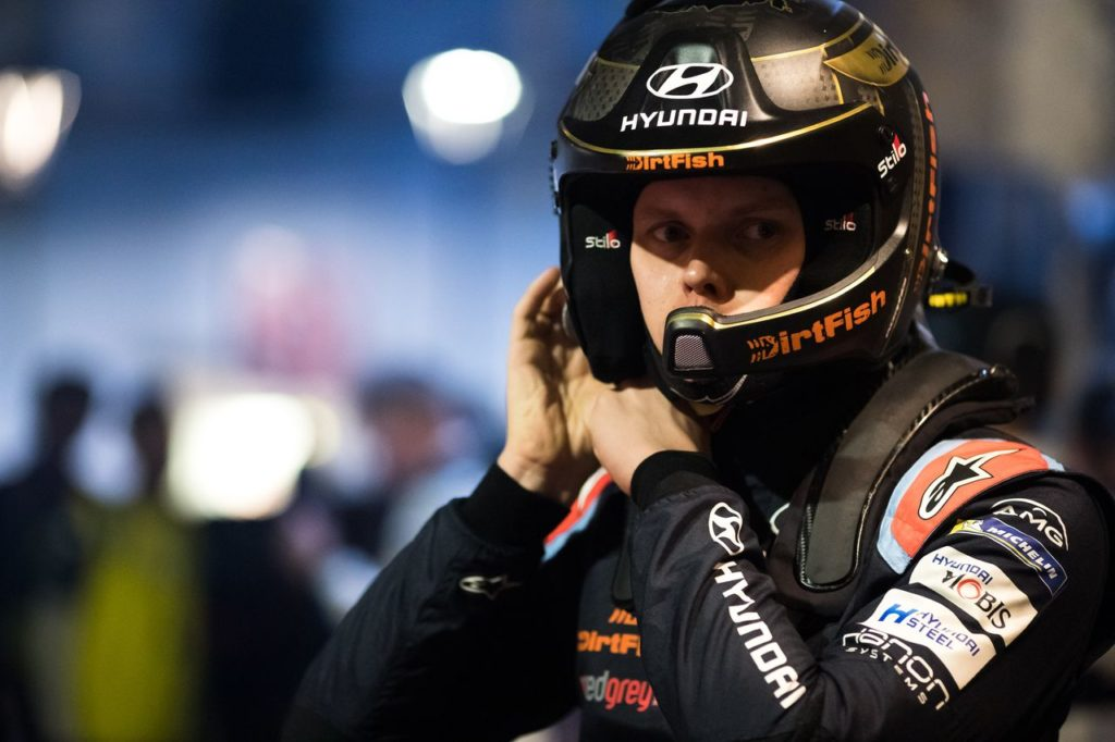 Hyundai schiera Tanak al South Belgian Rally in vista di Ypres. Huttunen iscritto al Rally Due Valli