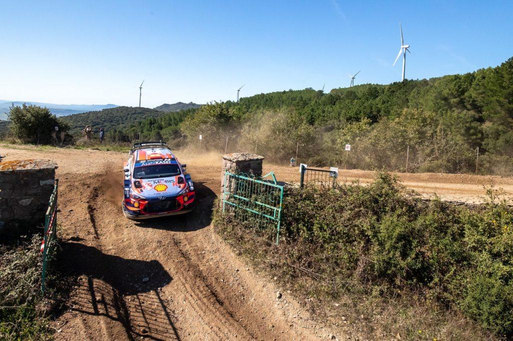 WRC | Rally Italia Sardegna 2020, prima giornata: Sordo in testa, tallonato da Suninen
