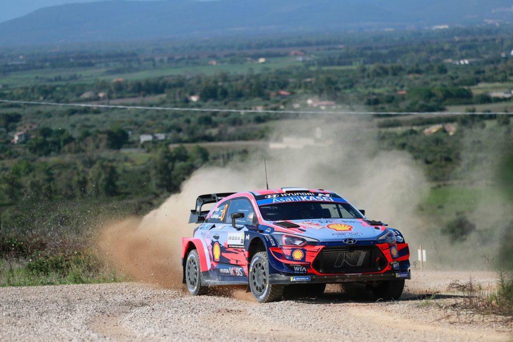 WRC | Rally Italia Sardegna 2020, shakedown: Tanak ed Evans in testa, imprevisto per Rovanpera