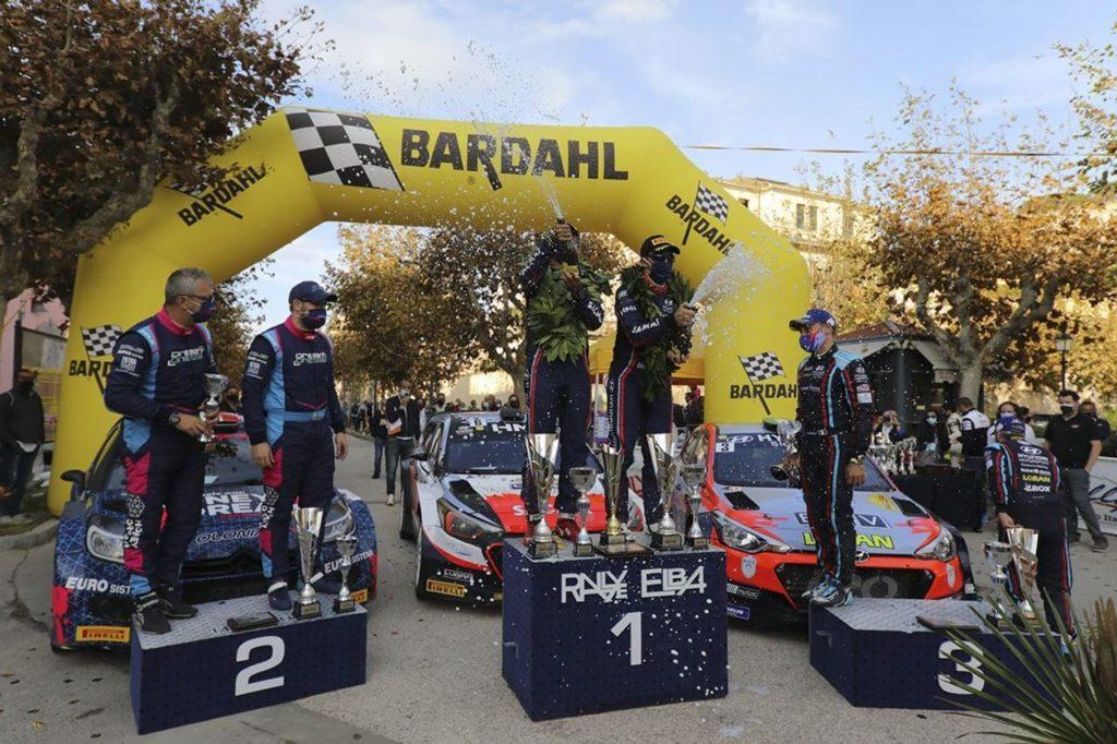 CIWRC | Rallye Elba 2020, Fontana e Arena tornano alla vittoria: campionato ancora aperto
